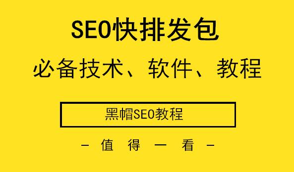 SEO快排发包应用软件编程技术黑帽SEO教程